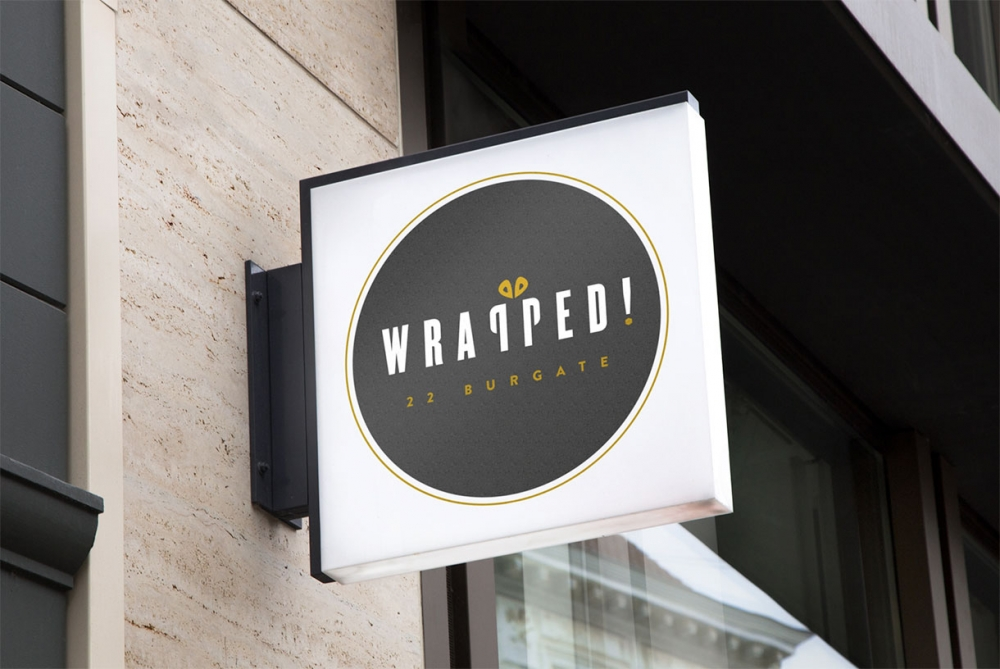 Graphic design for Wrapped