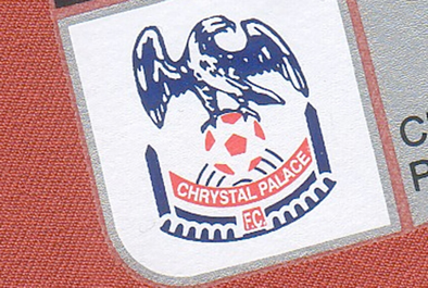 Crstal Palace FC badge error
