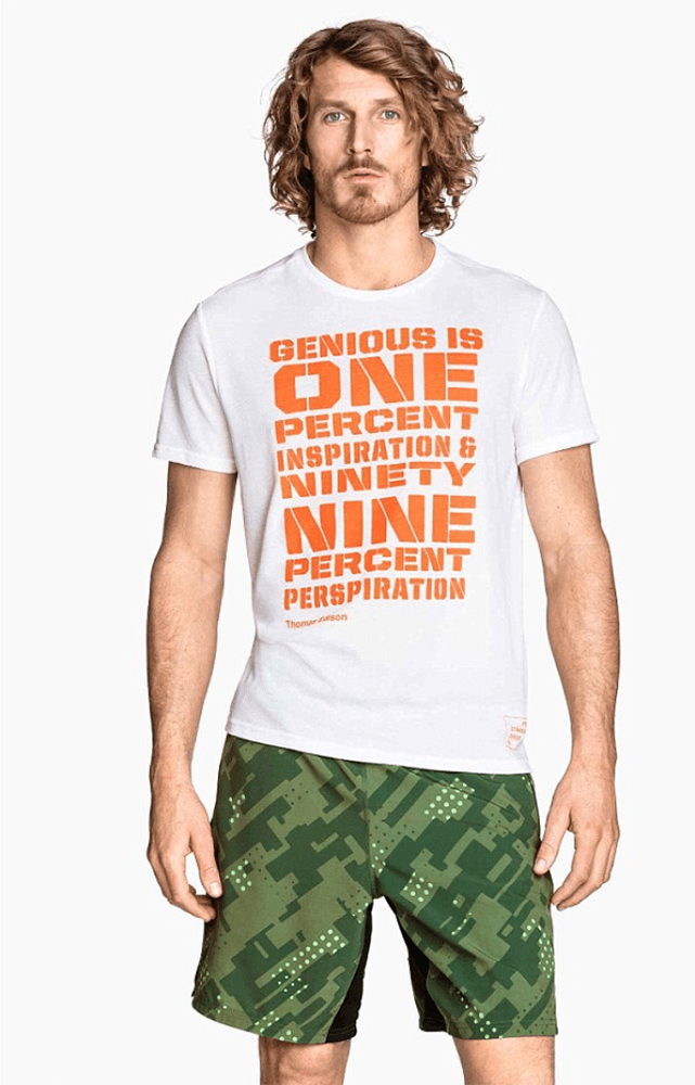 Genius T-Shirt miss spelling